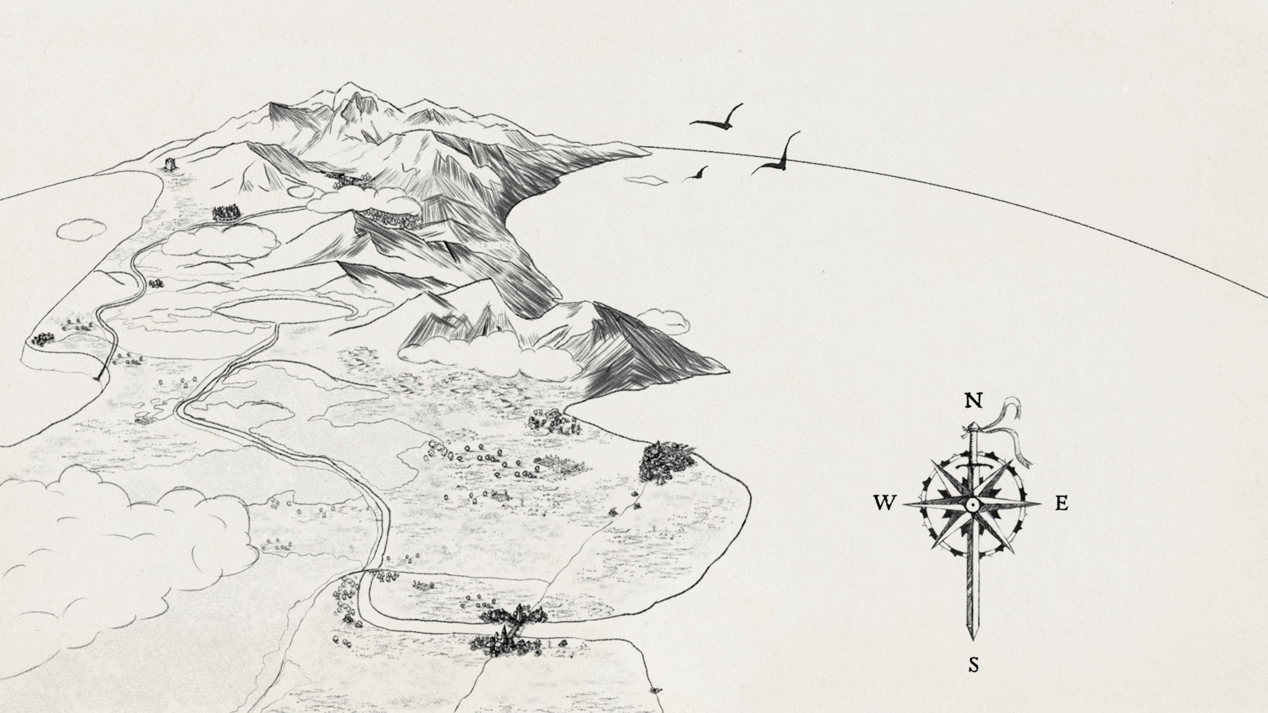 Falkarth-Map_Line-Art
